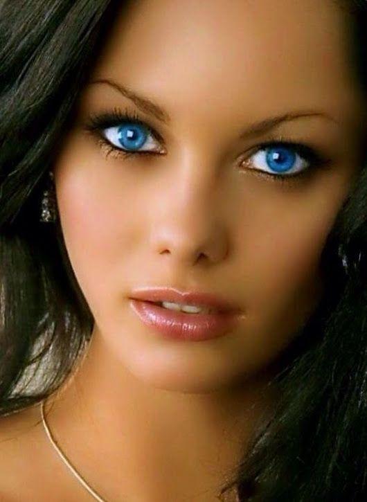 Фото синих глаз без лица получается