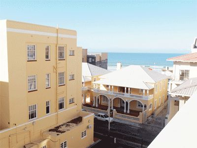 Self catering accommodation, Muizenberg, Cape Town   Balcony view  http://www.capepointroute.co.za/liveit-muizenberg.php