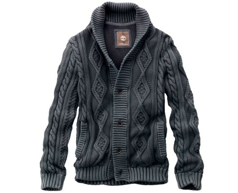 Men's Earthkeepers® Textured Cardigan Sweater - Timberland