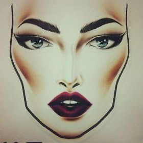 Theodorasdaily: Best of: Mac face charts. Make up bible.