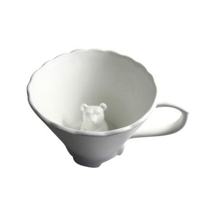 Hidden animal tea cup - Angeline Tetrault