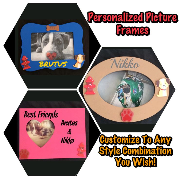 Personalize Custom Picture Frames!! For more details check