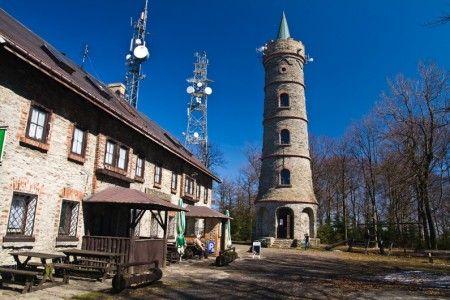 Rozhledna Jedlová u Jiřetína v Lužických horách