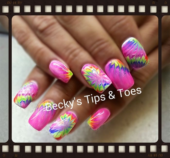 The 25 best diy neon tie dye ideas on pinterest diy tie dye neon tie dye nail art gallery prinsesfo Image collections