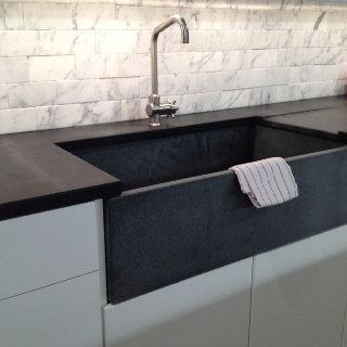 Soapstone Countertops For Kitchen Like The Matching Unit Of The Sink