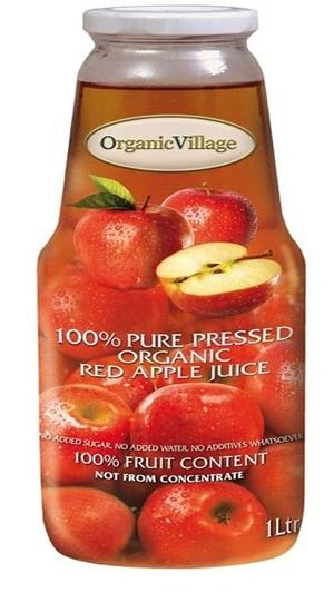 100% Organic First Pressed Fruit Juice- Not From Concentrate    No added water, salt, sugar and no additives whatsoever!    No wonder Adam couldn't refuse it. This wonder fruit is beneficial for preventing cancerous cells and improve the condition of your heart. A rich, natural source of vitamin C and A.