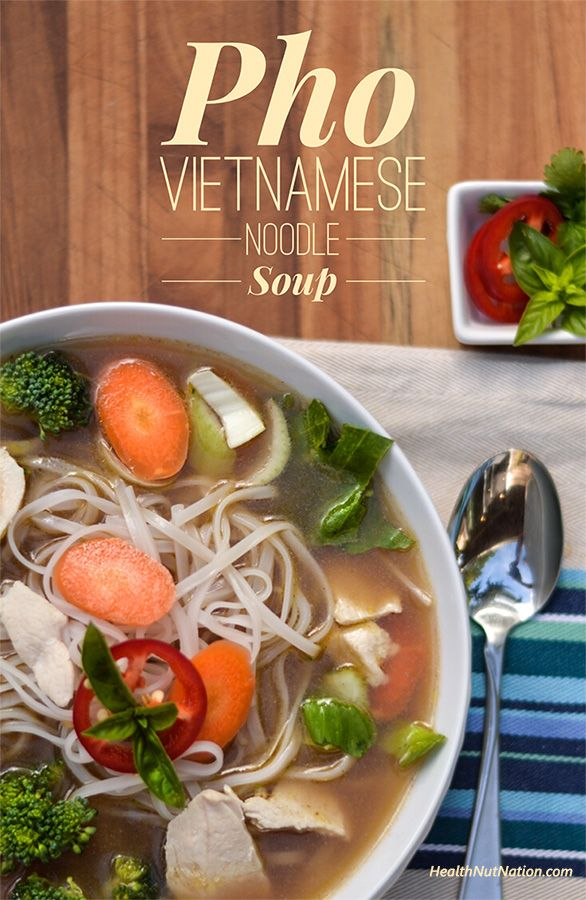 Learn how to make Pho Vietnamese Noodle Soup at home. gluten free, dairy free, egg free.