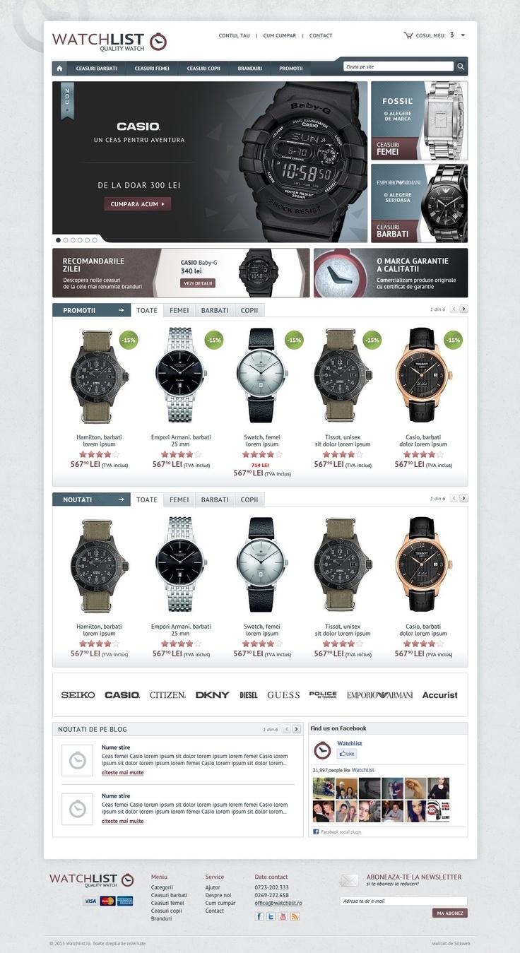 Home page - magazin online ceasuri