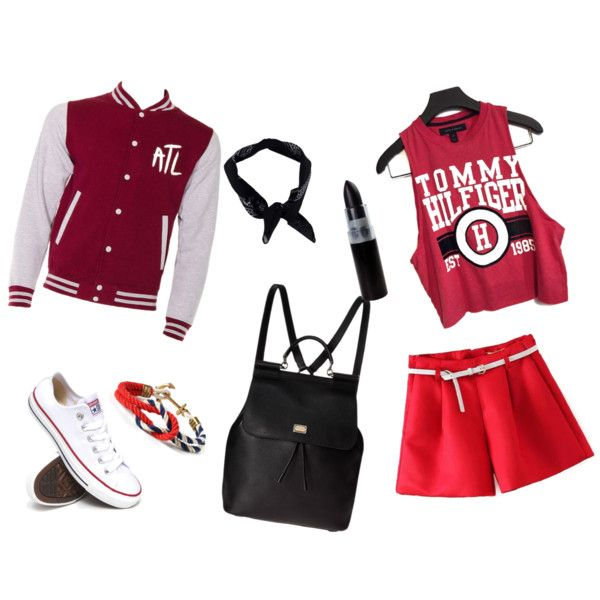 Untitled #16 by hanifahcandra on Polyvore featuring polyvore fashion style Converse Dolce&Gabbana Boohoo