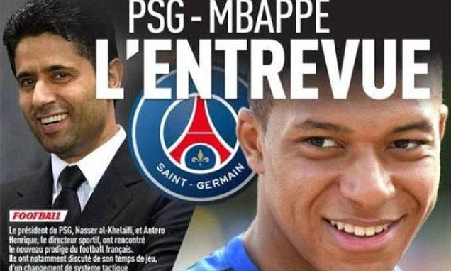 Kylian Mbappe: PSG confident of deal after secret meeting
