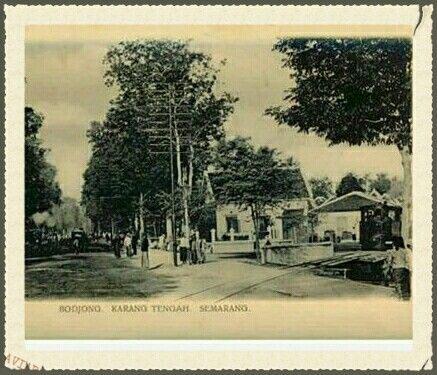 Bodjong Karang Tengah Semarang 1900-1910.