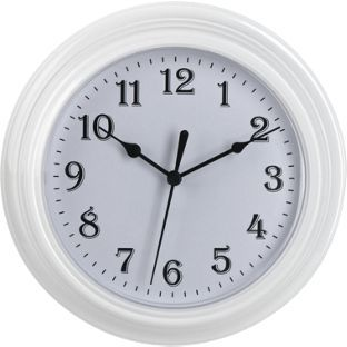 Buy Simple Value White Plastic Wall Clock at Argos.co.uk, visit Argos.co.uk to shop online for Clocks