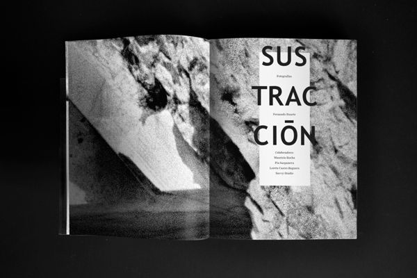 SUSTRACCIÓN on Behance