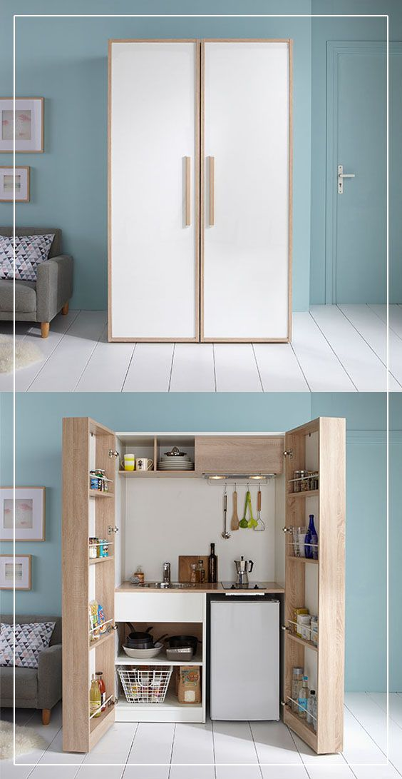 The 25 best hidden kitchen ideas on pinterest system kitchen diy hidden k - Cuisine scandinave design ...