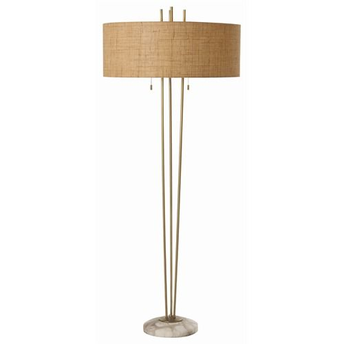58 best lamp addiction images on pinterest lampshades lamp shades jenson vintage brasssnow marble floor lamp arteriors home shaded floor lamps lamps aloadofball Gallery