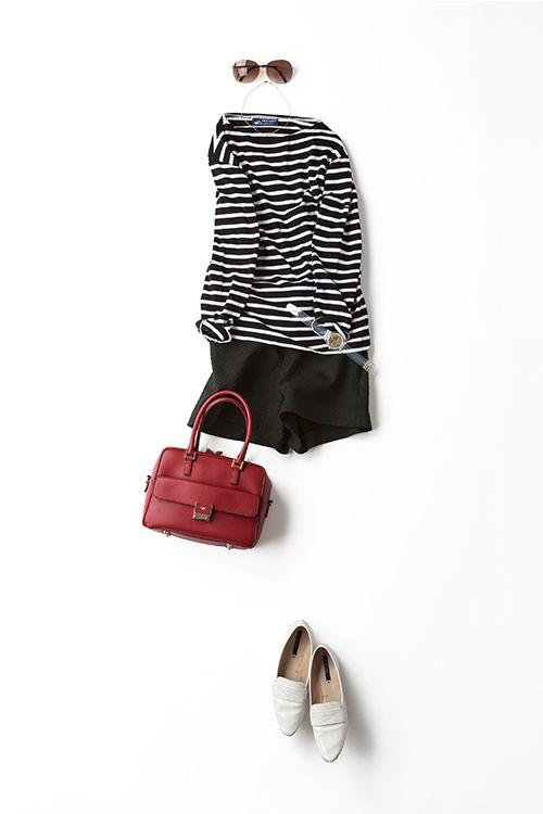 Kyoko Kikuchi's Closet | マスカラをたっぷりつけて、バーキンの気分で 着たいショートパンツスタイル