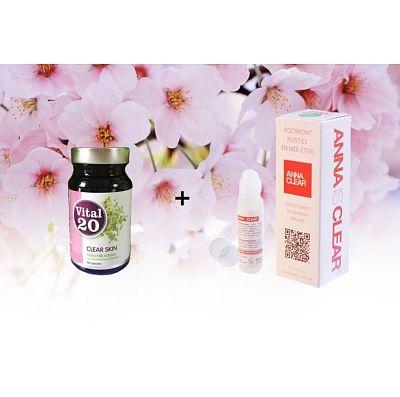 Een prachtige aanbieding ism drogisterij.net en vital20! http://www.drogisterij.net/gezondheid/vitaminen_supp_/voedingssupplementen/huid_haar_en_nagels/vital20-clear-skin-anna-is-clear-spot