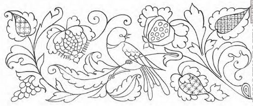Portfolio of Designs for Embroidery