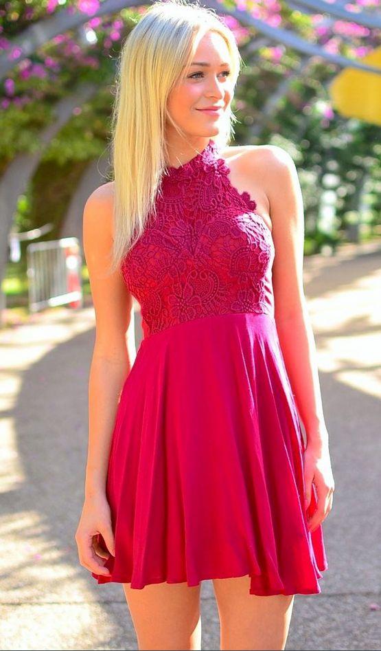 77 best Cocktailkleider images on Pinterest | Shoulder, Formal dress ...