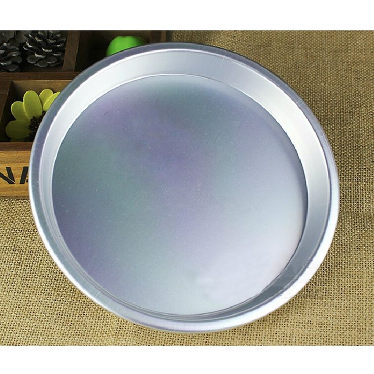 Rykey Round Aluminum Cake Pan / Deep Dish Pizza Pan (16.5*2.5cm) ** Don't get left behind, see this great  product : Cake Pans