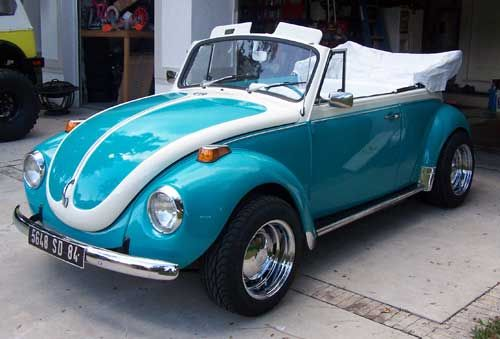 1971 Super Beetle Convertible...I would LOVE this!!!