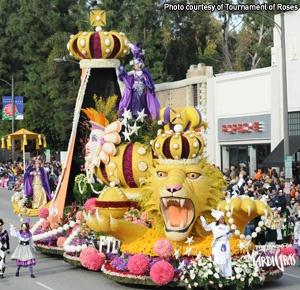 Mardi Gras Float - Lion