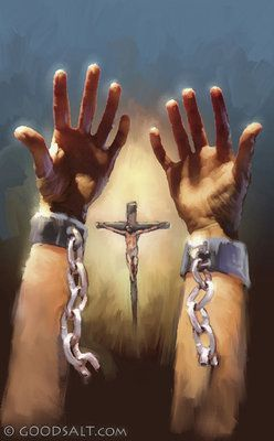 "MY CHAINS ARE GONE...I'VE BEEN SET FREE!!!!    ""Now that you have been set free from sin and have become a servant of God, the benefit you reap leads to holiness, and the result is eternal life.""  ROMANS 6:22"