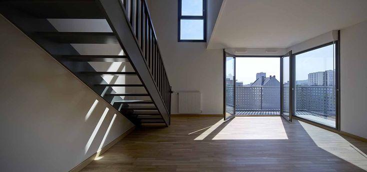 SPLAAR - Traversées portuaires - 70 logements en duplex - Pantin (93)