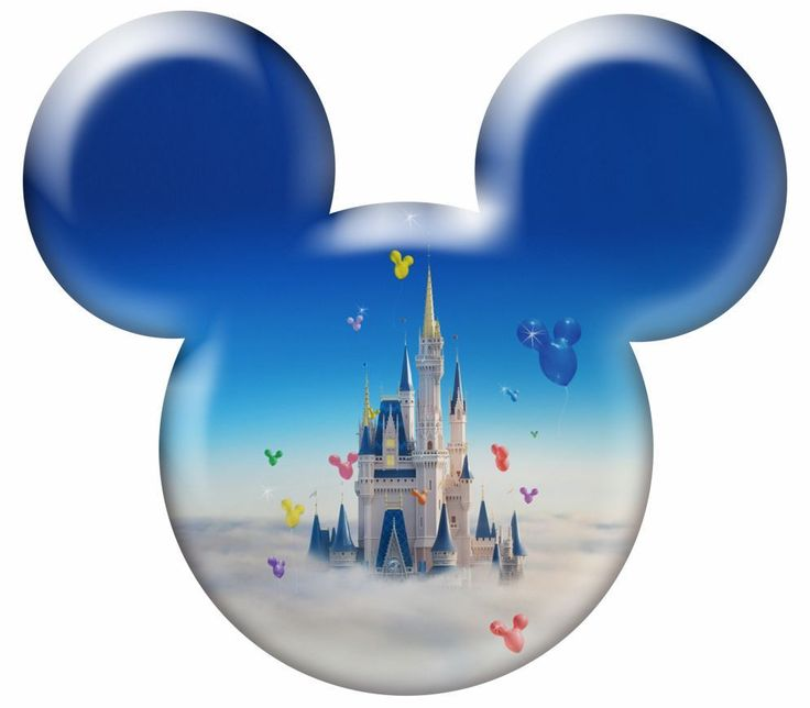 Good stuff for a scrapbook album - free printable Mickey head designs (for personal use only)!