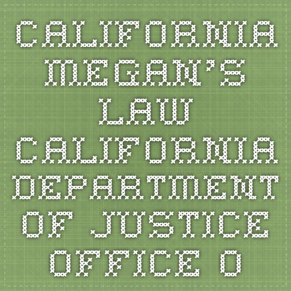 California Megan's Law - This one allows you to search by address :)   California Department of Justice - Office of the Attorney General