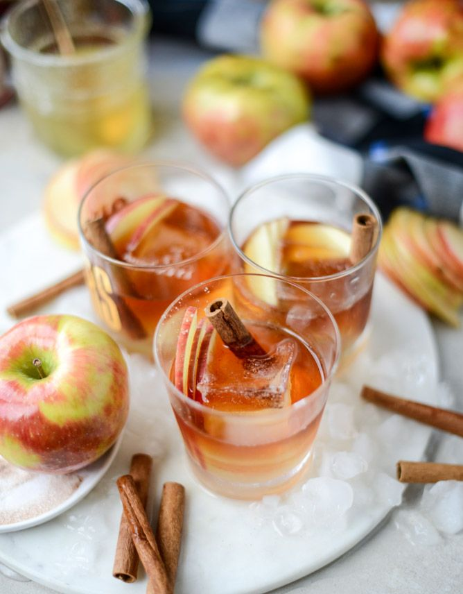 honeycrisp old fashioned from @howsweeteats