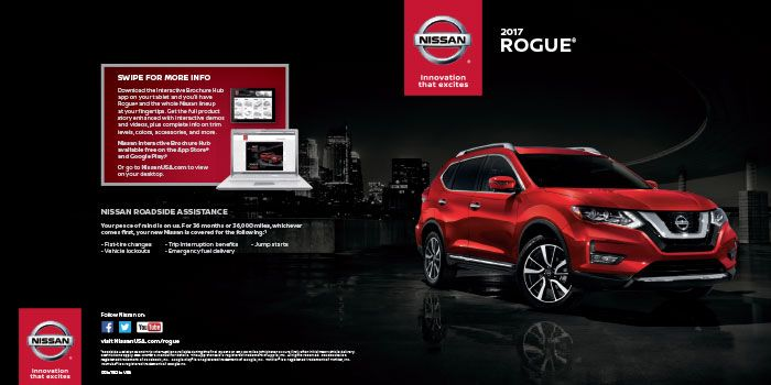 Download the 2017 Nissan Rogue Brochure