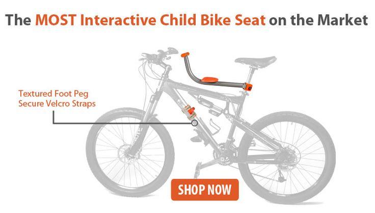 Child Bike Seat....a brilliant design