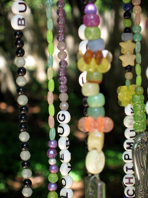 wind chime close up