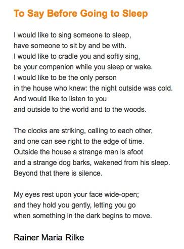 Dating Myself Poem