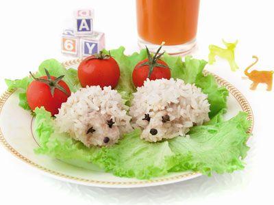Детские блюда – рецепты морковно-творожное суфле, рисовые ежики, овощные маффины, батончики мюсли, домашний лимонад . Мастер-класс на Gastronom.ru