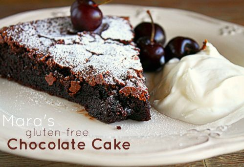 Gluten free chocolate cake recipe