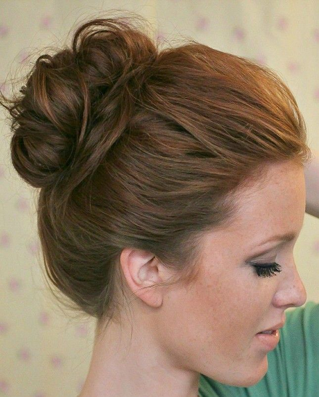 Has there ever been a hairstyle more effortlessly chic than the top knot? The answer is always no.