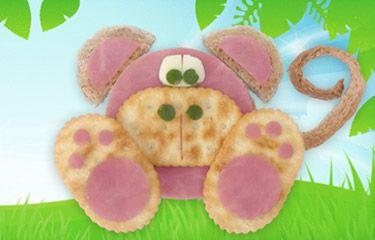 fun snacks for the kiddos!: Fun Snacks, Kids Recipe, Fun Food, Food Kids, Schools Snacks, Kids Snacks, Snacks Ideas, Monkey Snacks, Kids Food