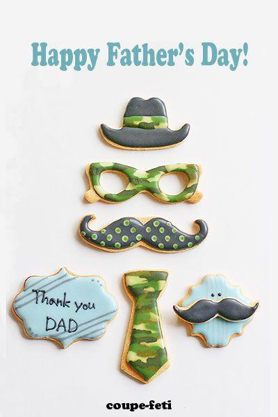 Happy Father's Day! アイシングクッキー教室のお知らせの画像:coupe-feti