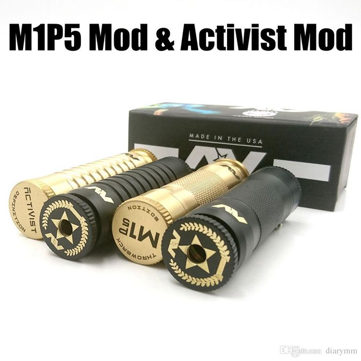 2017 Avidlyfe M1p5 Mod And Activist Mod Electronic Cigarette Fit 510 Thread Use 18650 Battery High Quality Brass Material Dhl Free A Mod Ecig Best E Cig Mod 2015 From Diarymm, $12.37| Dhgate.Com