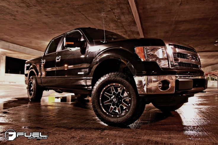 2014 Ford F-150 » BRAND: FUEL ONE PIECEOFFSET: +14WHEEL: D538 ...