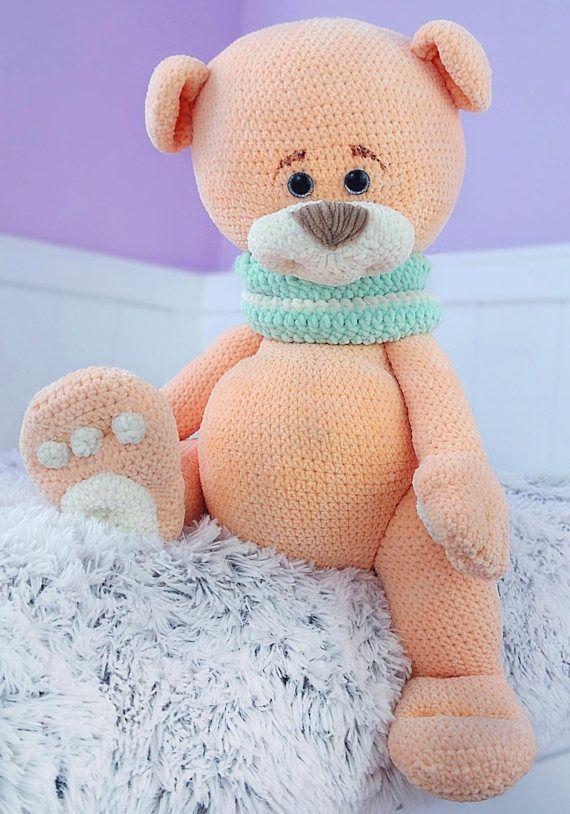 Amigurumi Big Bear (Free Pattern) - ENGLİSH | Teddy bear patterns ... | 814x570