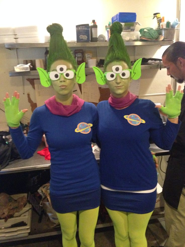 Aliens from Toy Story costume!