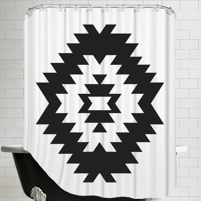 You'll love the Melinda Wood Southwestern Shower Curtain at AllModern - With Great Deals on modern Bath  products and Free Shipping on most stuff, even the big stuff.