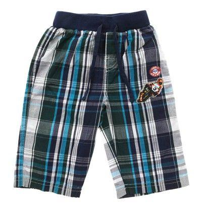 Blue Checkered Boys Shorts-D3735Nbg $15.00 on Ozsale.com.au