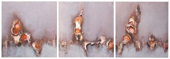 13. Fragmented Eclipse (triptych) - Symon Sayce