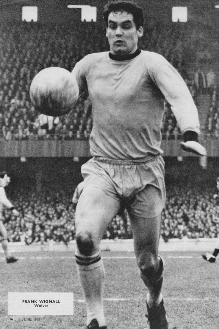 Frank Wignall of Wolves in 1968.