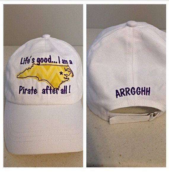 East Carolina University Embroidered by KellyGramsMonograms, $15.00