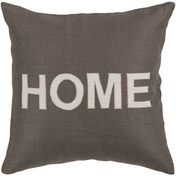 """Home"" Jute Pillow"